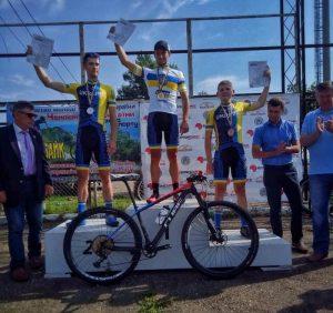 Ужгородець став срібним призером чемпіонату України з маунтинбайку