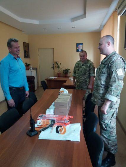 Охоронна компанія «Сенк» надала шефську допомогу прикордонникам Чопського загону