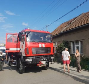 Під час гасіння пожежі врятовано чотирьох людей, серед яких троє дітей