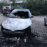 На Закарпатті підпалили автомобіль офіцера Держприкордонслужби