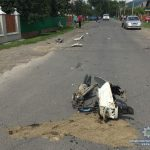 Фатальна ДТП на Рахівщині: загинув водій мопеда (фото)
