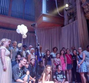 В Ужгороді провели концерт на підтримку скаліченої комунальниками Анітки Білей