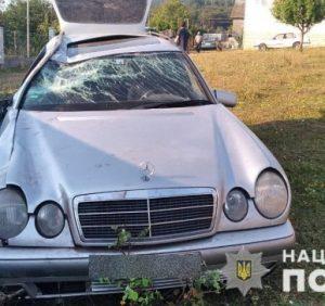 Житель Дніпропетровщини викрав у мукачівця «Mercedes» і розбив його