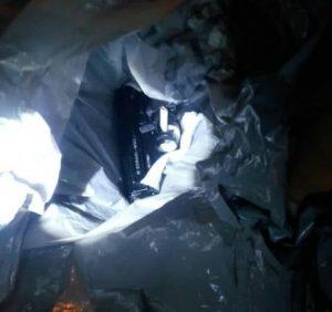 Прикордонний собака винюхав зброю у незвичному місці (ФОТО)