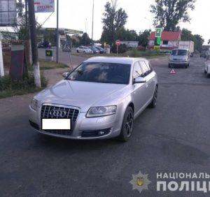Дитина-пішохід постраждала у ДТП на Виноградівщині