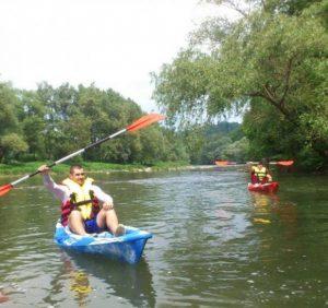 1 вересня можна безкоштовно покататися на річках Уж та Латориця на каяках