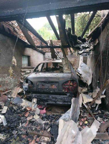 Впродовж доби на Закарпатті горіли два автомобілі (фото)