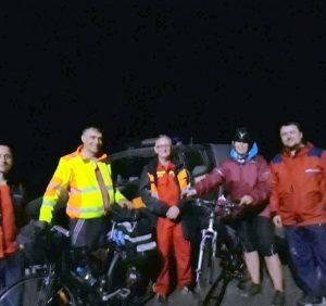 Рятувальники відшукали в горах двох заблукалих туристів з Чехії