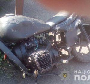 ДТП з потерпілими на Перечинщині: мотоцикліст влетів у «ВАЗ»