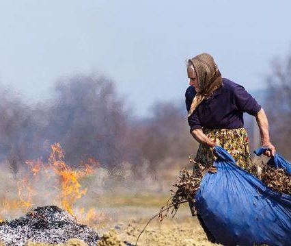 Небезпечна утилізація опалого листя і решток рослин шкідлива і може призвести до трагедії (ВІДЕО)