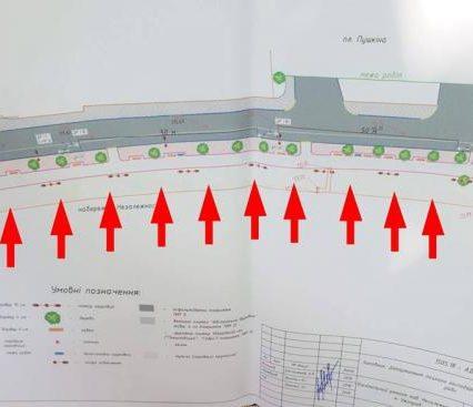 За проектом ремонту набережної в Ужгороді передбачено вирубку дерев на липовій алеї