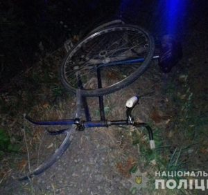 На Виноградівщині «Volkswagen» збив велосипедиста