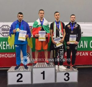 Закарпатець став віце-чемпіоном Європи з ММА (ФОТО)