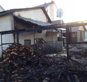 Іршавські вогнеборці врятували житловий будинок від пожежі