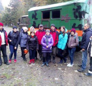 Рятувальники відшукали заблукалих в районі г. Говерла тернопільських освітян