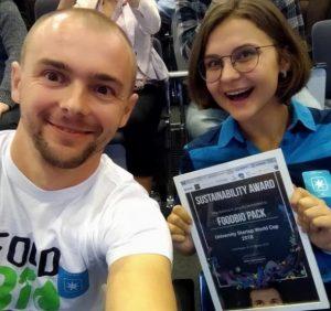 Украинская биоупаковка выиграла в международном конкурсе стартапов