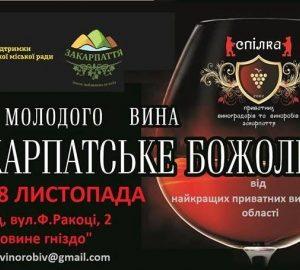 "Ужгород запрошує на свято молодого вина ""Закарпатське божоле"""