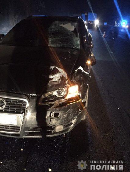 Закарпатець на «AUDI» при обгоні збив насмерть велосипедиста (ФОТО)