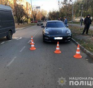 В Ужгороді водій «Porsche» збив 12-річну дівчинку-пішохода