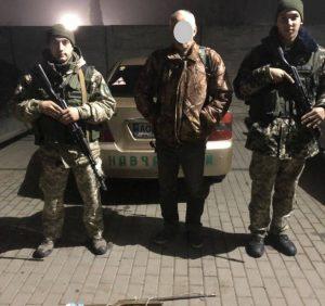 Закарпатця-браконьєра затримали на українсько-словацькому кордоні