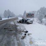 Зимова ДТП на Тячівщині: є постраждалі