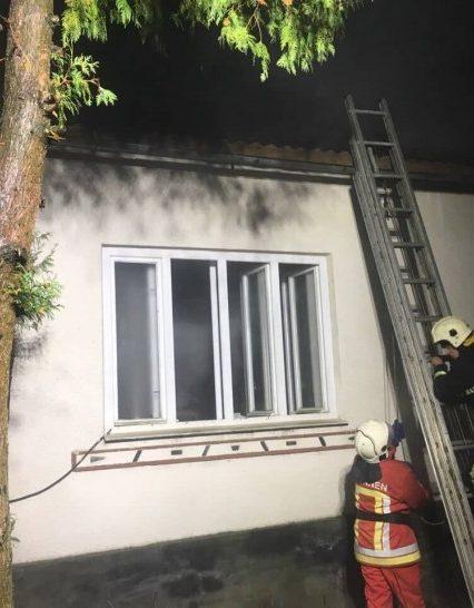 Вогнеборці Іршавського району врятували на пожежі чоловіка