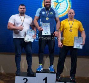 Закарпатець привіз додому 2 місце з Кубку України з армреслінгу