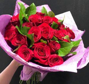 Букет роз, как лучшее решение