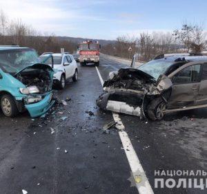Автотроща на Ужгородщині: 7 осіб постраждало (фото)