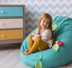 Как выбрать кресло мешок для ребенка