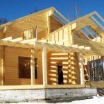 Клееный брус для строительства домов