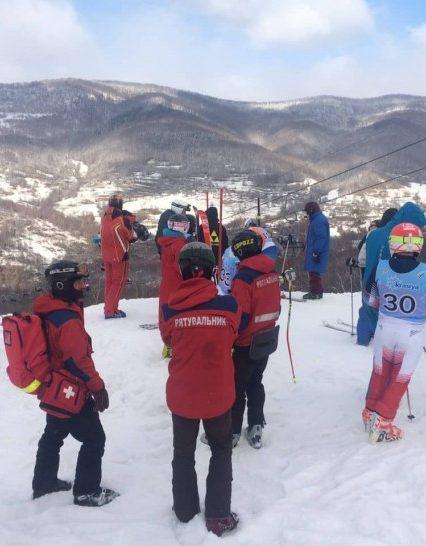 Гірські рятувальники пильнують безпеку під час чемпіонату України «Baby Champ Krasiya 2019»