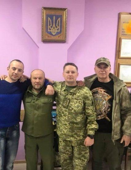 Закарпатці здійснили візит у 101 бригаду охорони ГШ ЗСУ