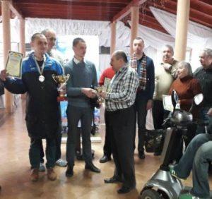 У Мукачеві відбувся обласний турнір з шахів та шашок серед інвалідів