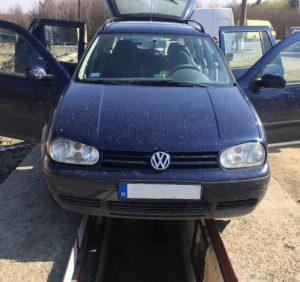 Закарпатські митники виявили у паливному баку «Volkswagen» схованку з цигарками