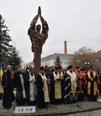 Пам'ятник жертвам Голодоморів перенесуть на ужгородську Кальварію