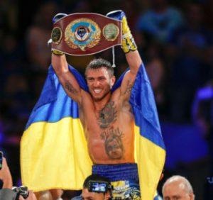 Ломаченко отримав пояс суперчемпіона WBO перед боєм із Кроллою