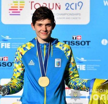Вихованець Закарпатського «Динамо» Василь Гумен став чемпіоном світу з фехтування