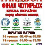Кубок України з гандболу: Ужгород прийматиме Фінал чотирьох