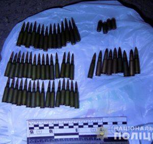 В Ужгороді поліцейські вилучили у двох чоловіків набої