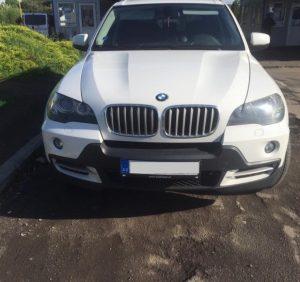 BMW X5 з підробленим VIN-кодом затримали на українсько-словацькому кордоні