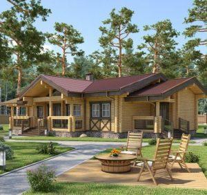 Деревянный дом — дом, от которого веет теплом