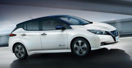 Nissan Leaf — одна из самых доступных моделей электромобилей