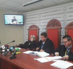 """Вибори «по-мукачівськи»: у справі """"Токар-Балога"""" суд пішов у нарадчу кімнату для прийняття рішення"""