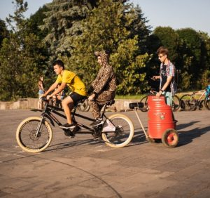 Велозаїзд «Big City Ride» відбувся в Ужгороді (відео)