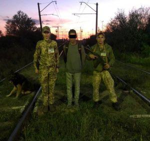 Поблизу Чопа затримали француза, який незаконно перетнув кордон