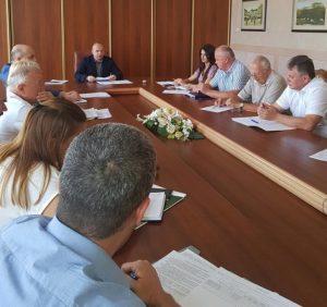 В Закарпатській облдержадміністрації відбулося засідання «трудової» комісії