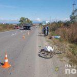 Поліція Берегівщини розслідує ДТП зі смертельними наслідками