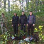 Групу молдован затримали прикордонники у Великоберезнському районі