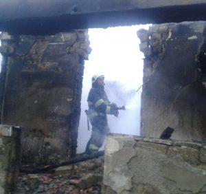 Під час гасіння пожежі в житловому будинку вогнеборці виявили тіло власника